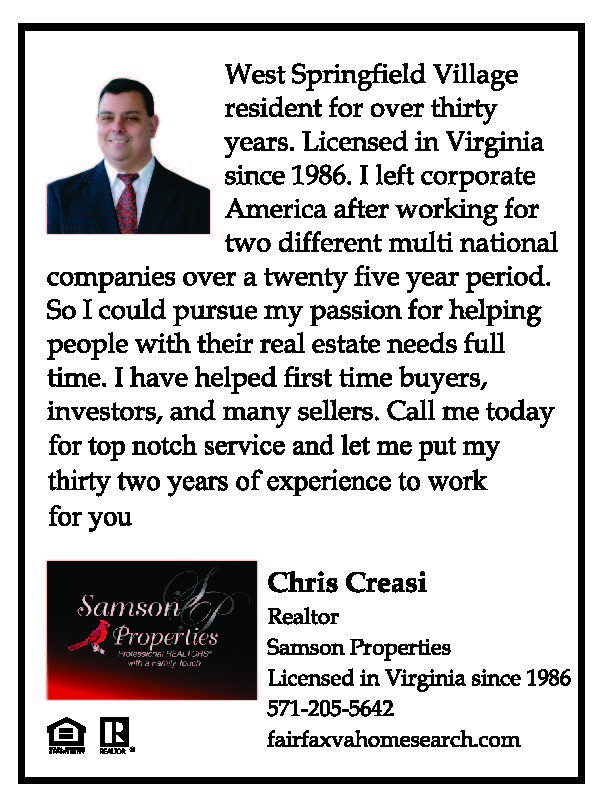 Chris Creasei, Realtor