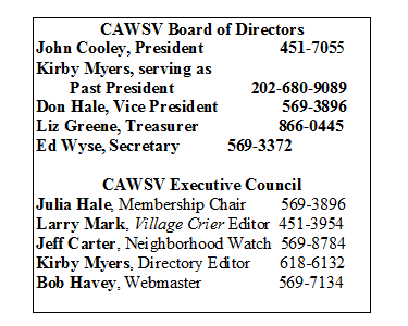 Text Box - Board of Directors
