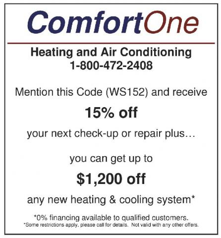 Comfort One Heating and Air Conditioning