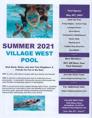 Village West Pool